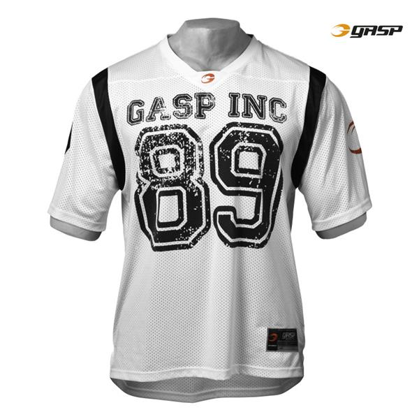GASP Football Jersey, White