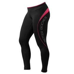 Fitness long tights, Hot pink