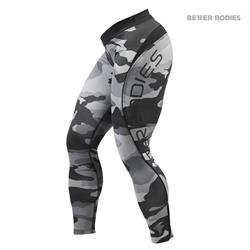 Camo long tights, grey camo