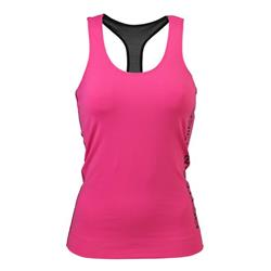 Athlete T-back, Hot pink