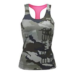 Athlete T-back, Green camo