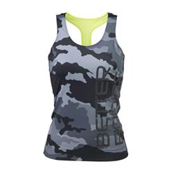 Athlete T-back, Grey camo