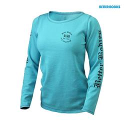 Womens thermal l/s, Aqua Blue