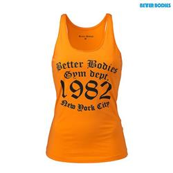 Raw Jersey Tank, Bright orange