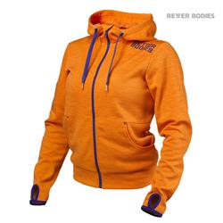 Womens athletic hood, Bright orange