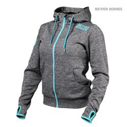 Womens athletic hood, Antracite melange