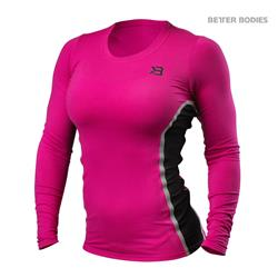 Performance Shape LS, Hot pink