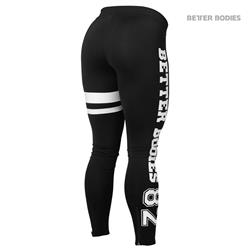 Varsity Tights, Black/white