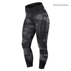 Camo High Tights, Dark camo