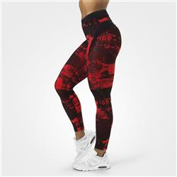 High Line Tights, Scarlet red