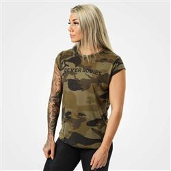 Astoria Tee, Dark green camo