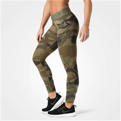 Chelsea Tights, Dark green camo