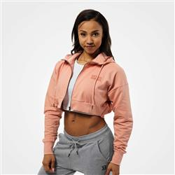Astoria Cropped Hood, Peach beige