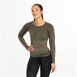 Nolita Seamless Longsleeve, Wash green