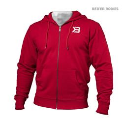 Jersey Hoodie, Bright red