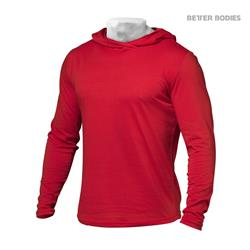 Mens Soft Hoodie, Bright red