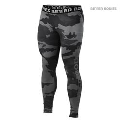 Hudson Logo Tights, Dark camo