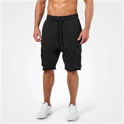 Bronx Cargo Shorts, Washed black