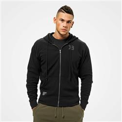 Stanton Zip Hood, Wash black