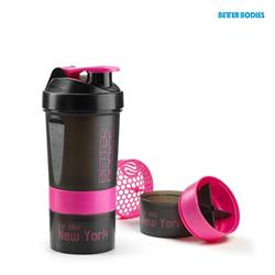 BB Pro Shaker - 600ml, Black/pink