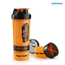 BB Gym shaker 800, Orange/black