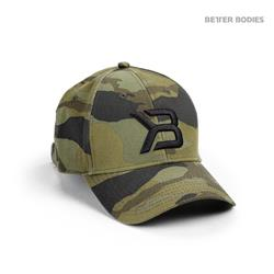 BB Baseball Cap, Green camo
