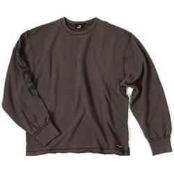 Crew Neck Sweater, dark grey