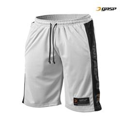 No1 Mesh Shorts, White/Black