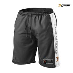No1 Mesh Shorts, Black/White