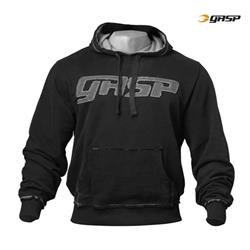 GASP Hood Sweater, Black