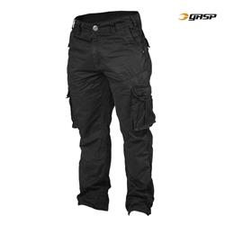 Cargo Pocket Pant, Black