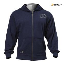 Throwback Zip Hoodie, Dark navy