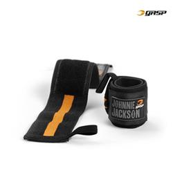 GASP power wrist wraps, black/flame