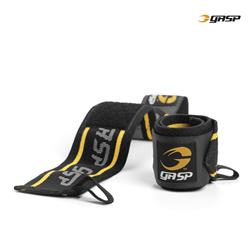 GASP Wrist Wraps, Black/yellow