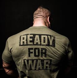 Ready4War Tee, Army green
